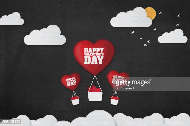 Valentines Balloon Background