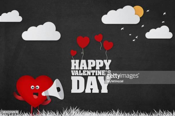 Valentines Day Announcement Background