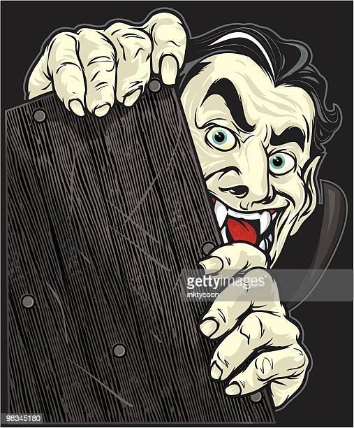vampire blah! - voyeurism stock illustrations, clip art, cartoons, & icons