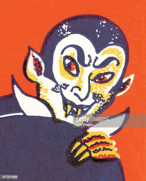 ilustraciones, imágenes clip art, dibujos animados e iconos de stock de vampire - vampiro