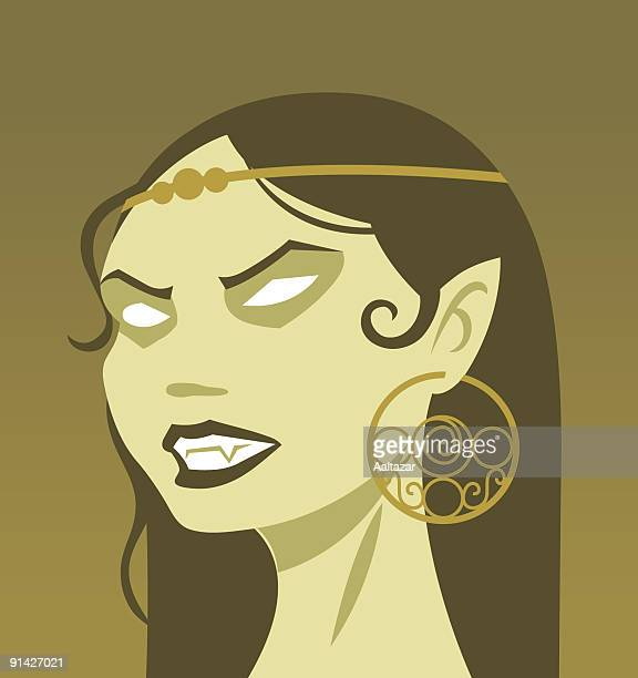 vampire lady - count dracula stock illustrations, clip art, cartoons, & icons