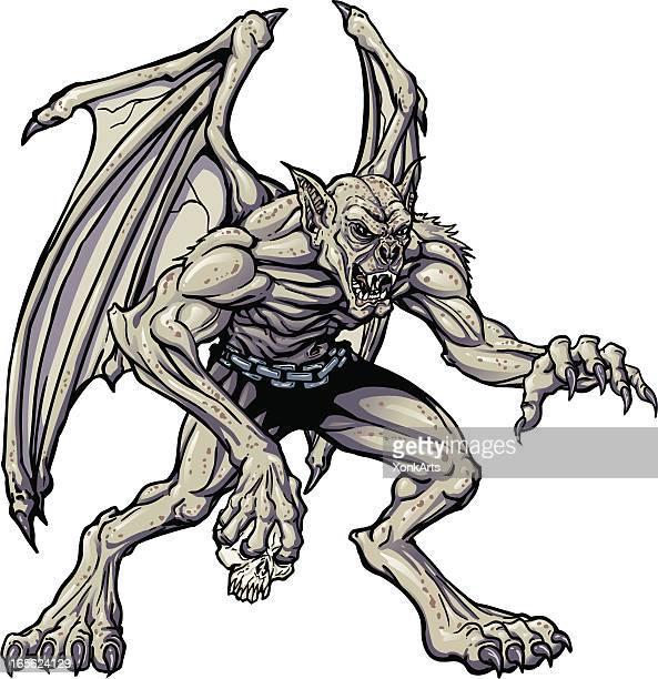 stockillustraties, clipart, cartoons en iconen met vampire monster - monster fictional character