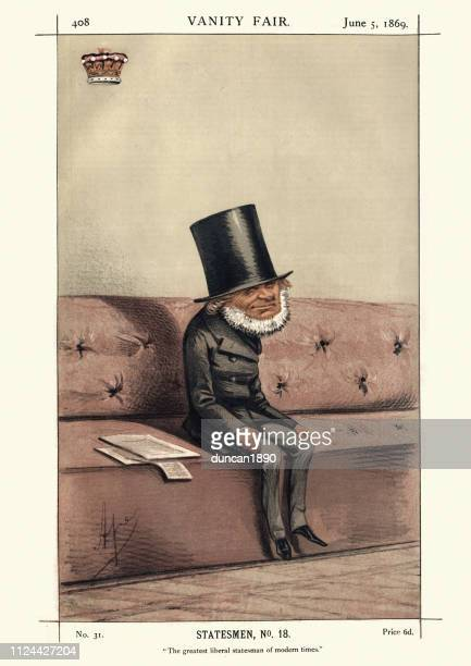 Vanity fair caricature of John Russell, 1st Earl Russell