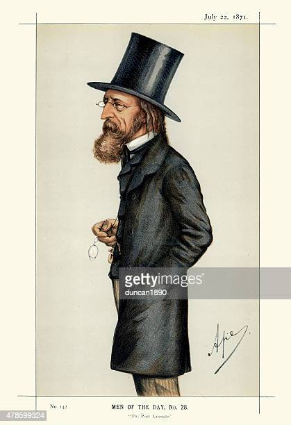 Vanity Fair Print of Alfred, Lord Tennyson