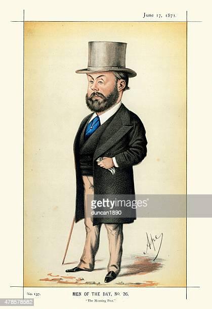 Vanity Fair Print of Algernon Borthwick, 1st Baron Glenesk