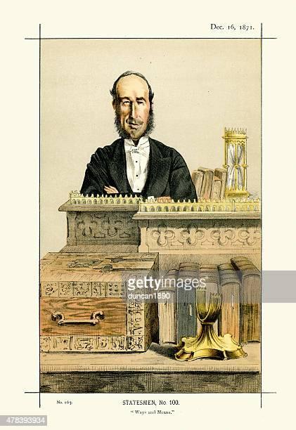 Vanity Fair Print of John George Dodson, Baron Monk Bretton