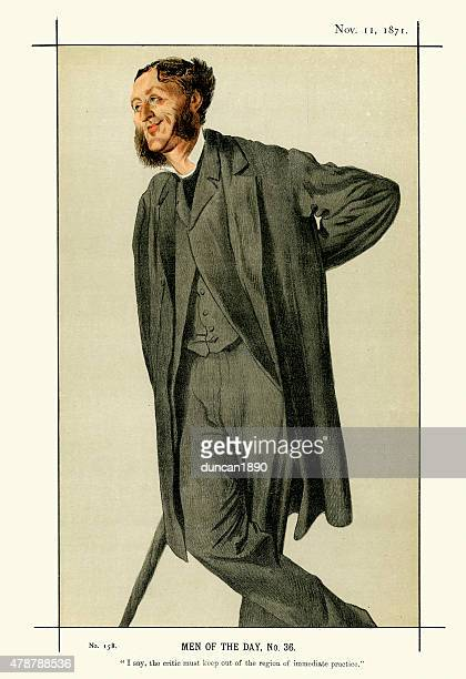 Vanity Fair Print of Matthew Arnold