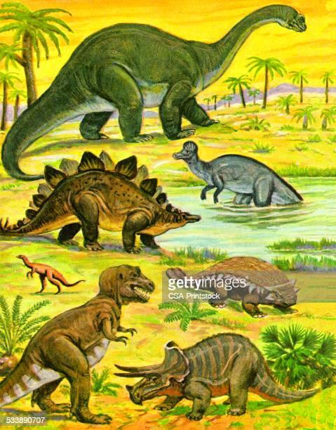 Variety of Dinosaurs