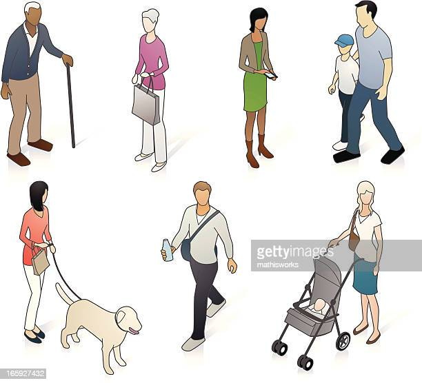 Variety of isometric neighborhood people
