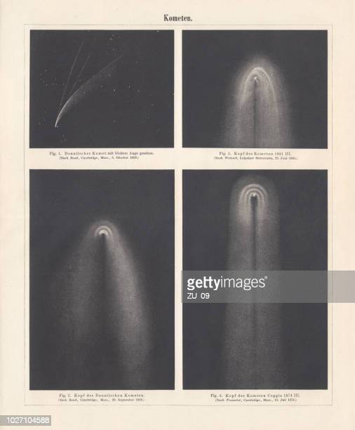 Various comets from the 2nd half of the 19th century