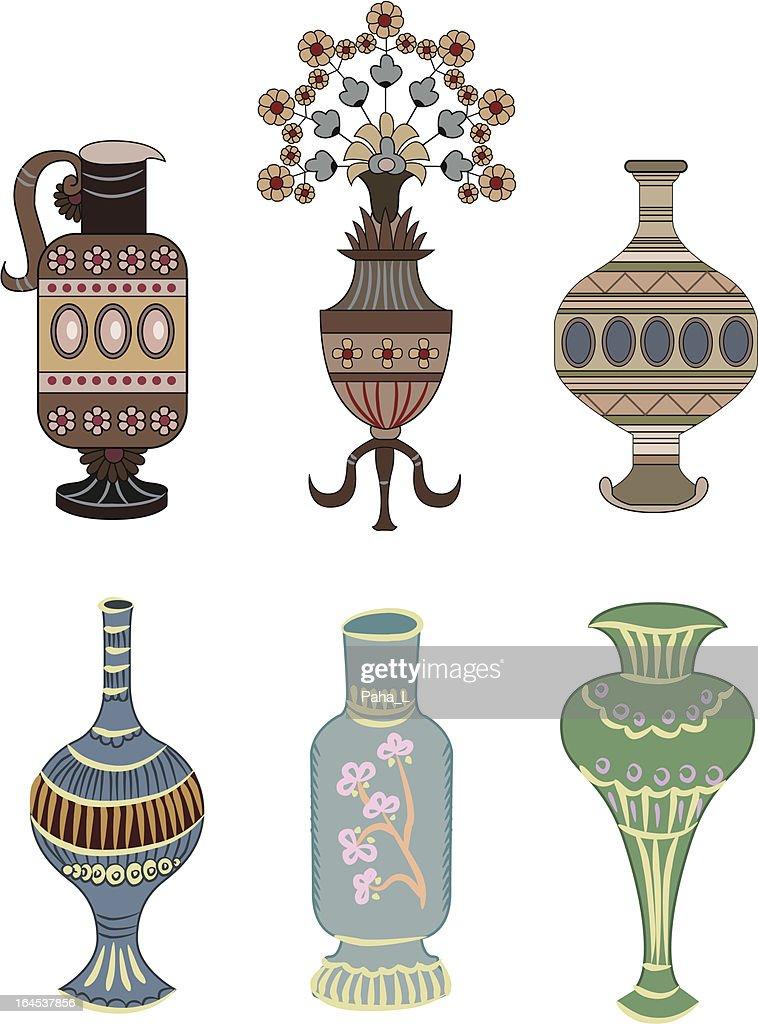vase ornament element