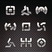 Vector Chrome Logos