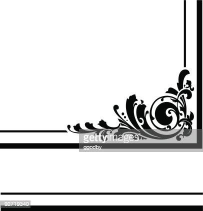 Vector Corner Design Stock Illustration - Getty Images