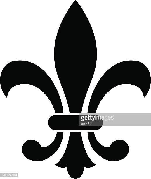 Fleur De Lys Stock Illustrations And Cartoons