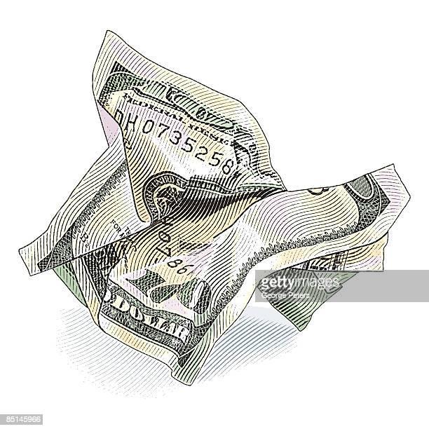 Vector Illustration of $100 Bill