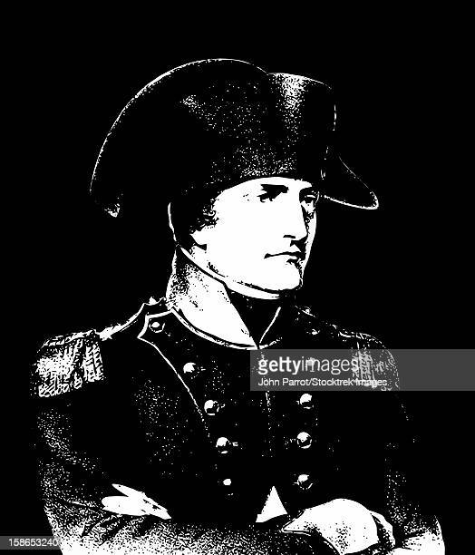 Vector illustration of Napoleon Bonaparte.