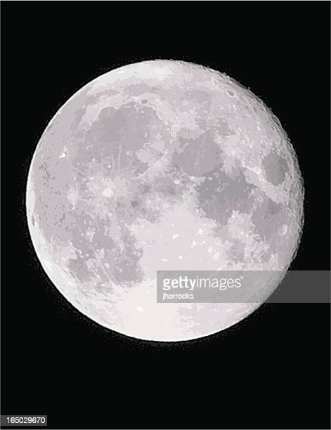 vector moon - moon stock illustrations