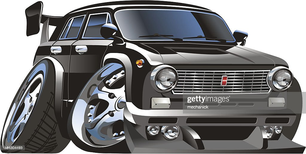 Vector Muscle Car Vector Art Getty Images