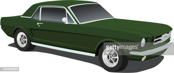 Vector Mustang from 1965