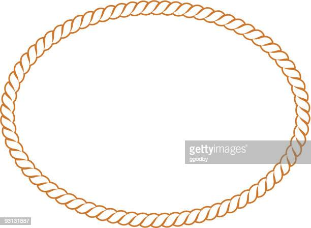 Vector Rope Oval -91604