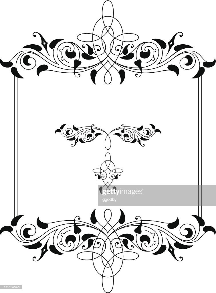 Vector Scroll / Frame Design