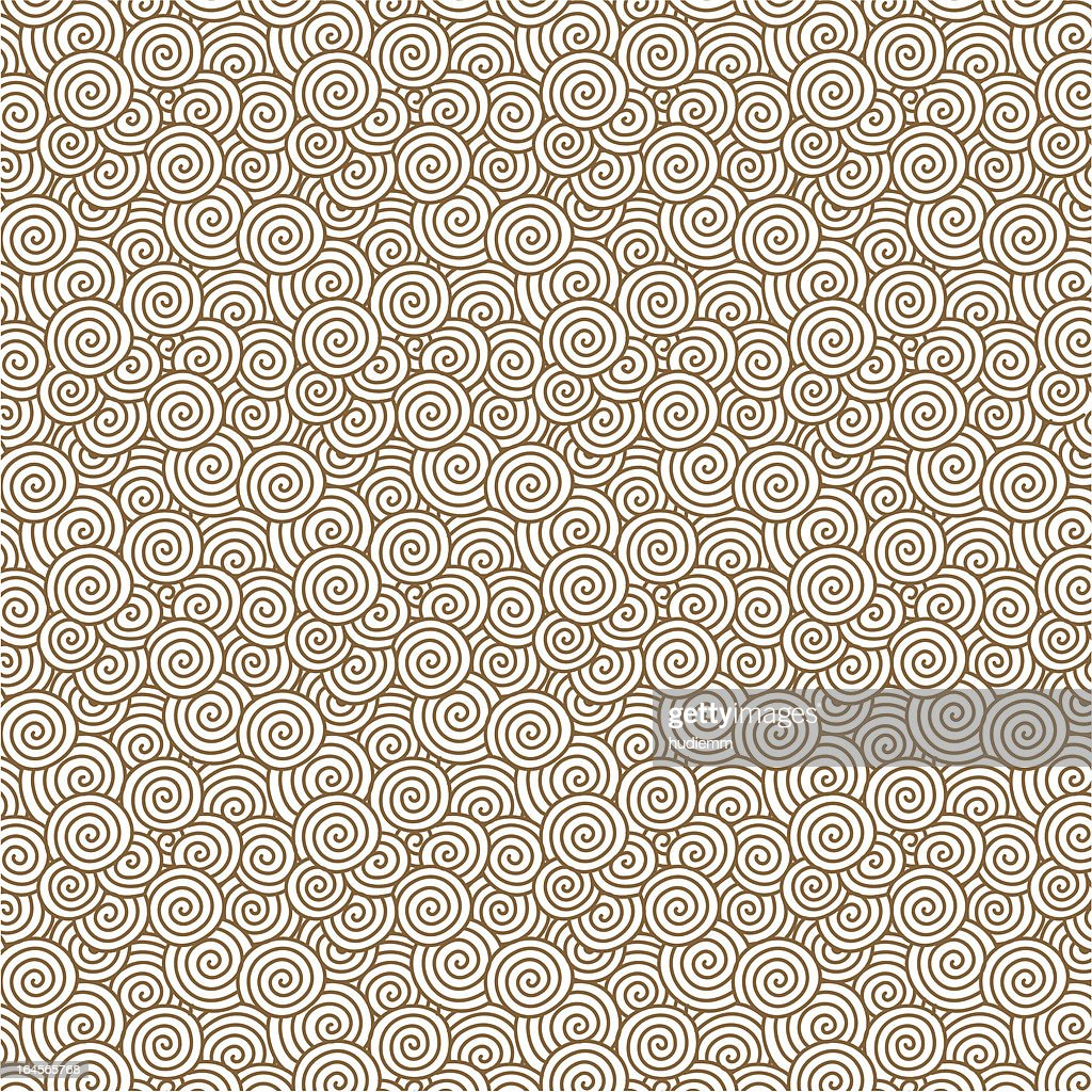 Vector swirl pattern background