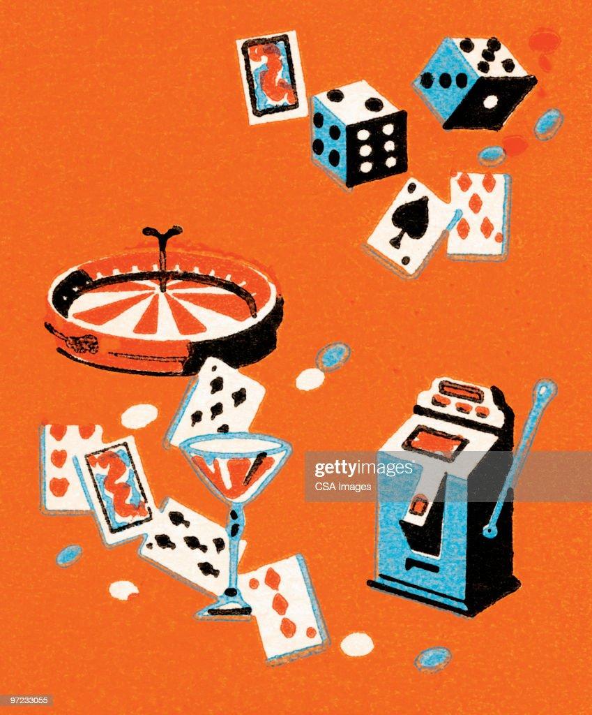 Vegas accouterments : Ilustración de stock