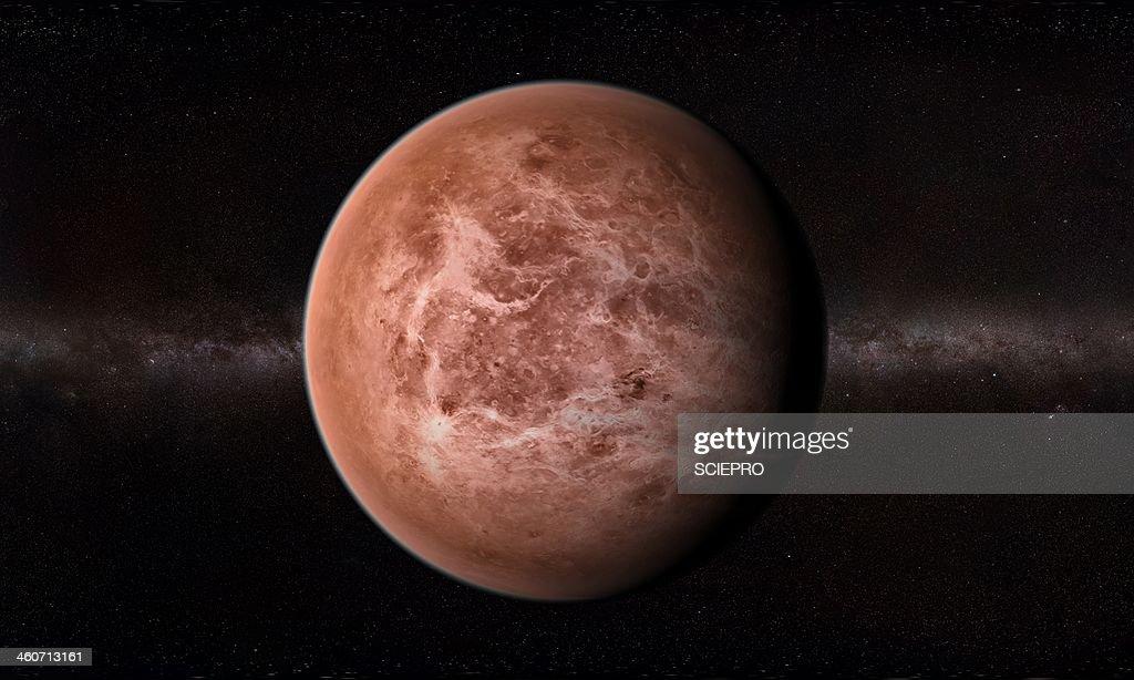 Venus, artwork : stock illustration