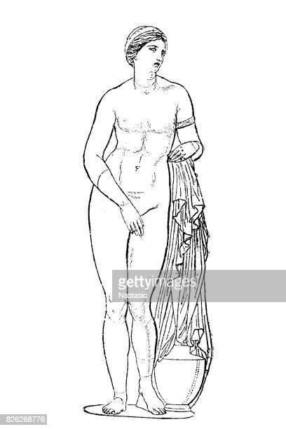bildbanksillustrationer, clip art samt tecknat material och ikoner med venus - grekisk gudinna