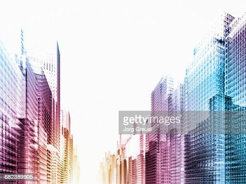 Vibrant city
