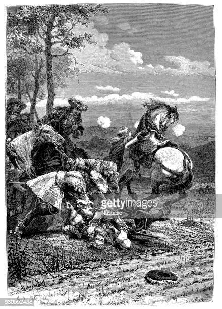 Vicomte de Turenne 's death, 27 July 1675. During the Battle of Salzbach (Alsace) between France and the Holy Roman Empire