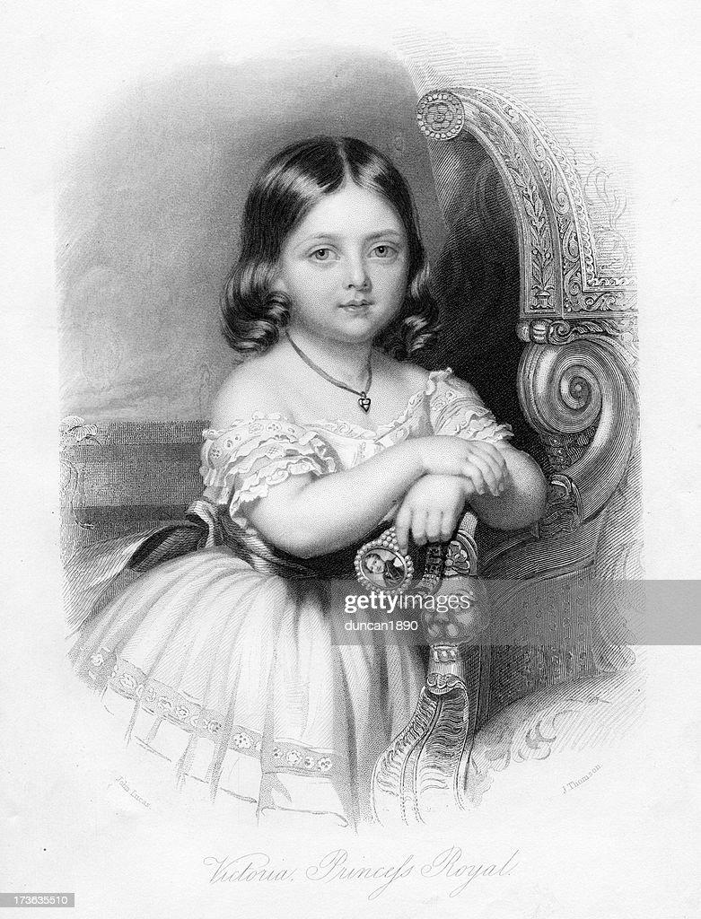 Victoria Princess Royal : stock illustration