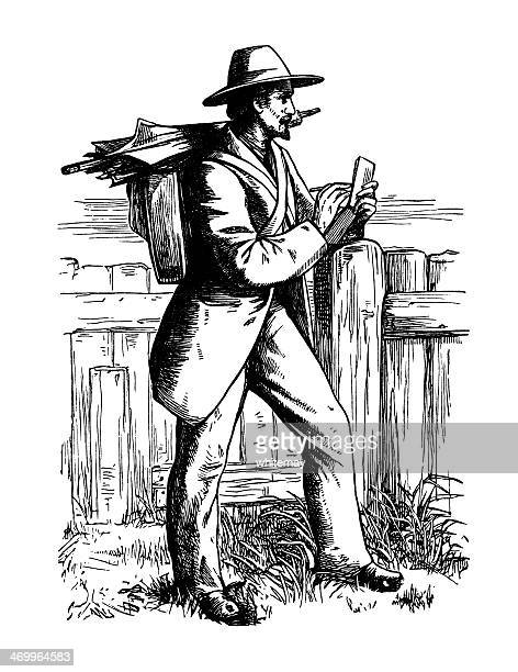 Victorian artiste qui en fait un croquis