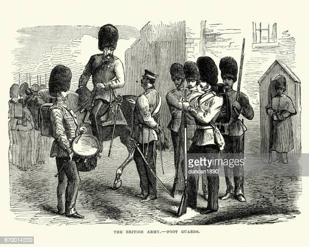 Victorian British Army - Foot Guards 19th Century