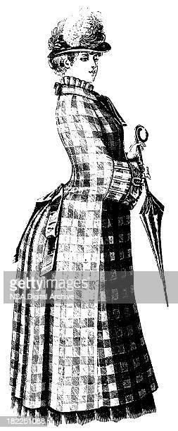 Victorian dress | Antique Design Illustrations