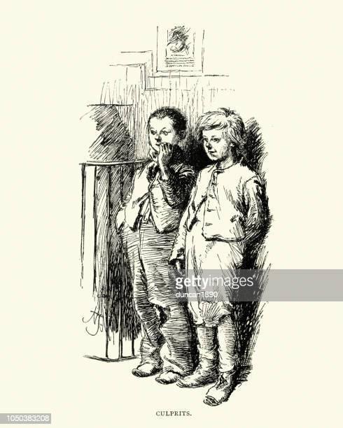 Victorian education, Naughtly schoolboys at a Board School