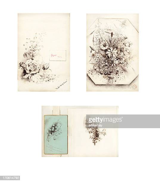 Fleur de belle époque victorienne/illustrations