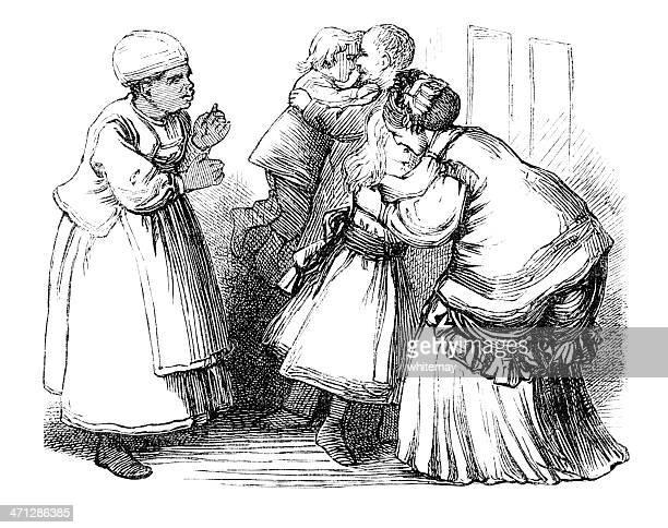 ビクトリアのご家族には、アフリカ系カリブの託児サービス