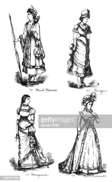 Victorian Fancy Dress Costumes