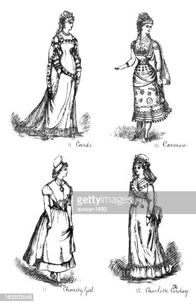 Victorian Fancy Dress Costumes