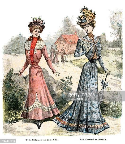 Victorian French Fashion