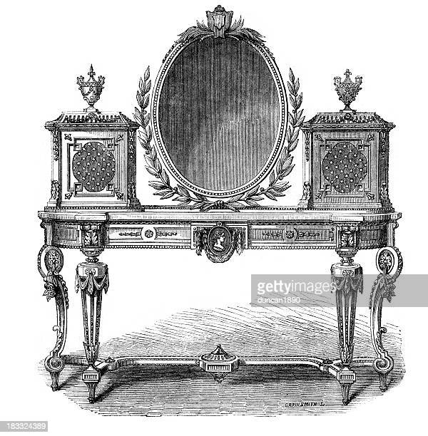 Victorian Furniture Toilet Table
