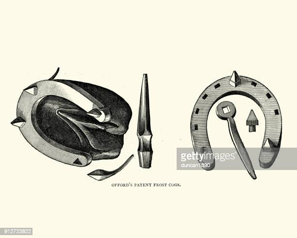 Victorian Horseshoe amd nail, Frost Cogs