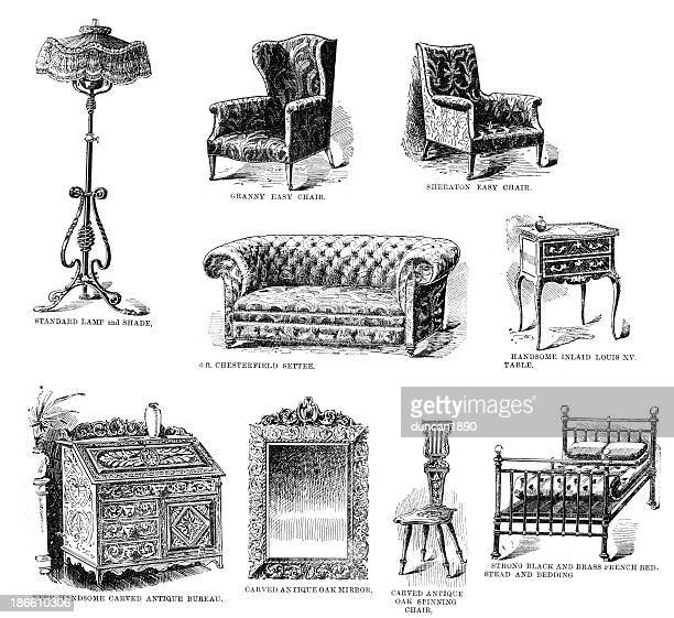 Victorian Household Furniture