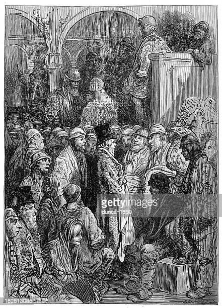 Victorian London - Billingsgate Market