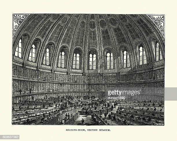 Victorian London - British Museum Reading Room