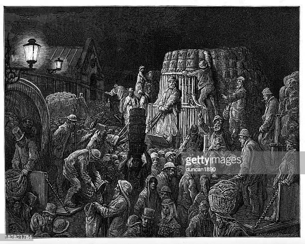 Victorian London - Covent Garden Market
