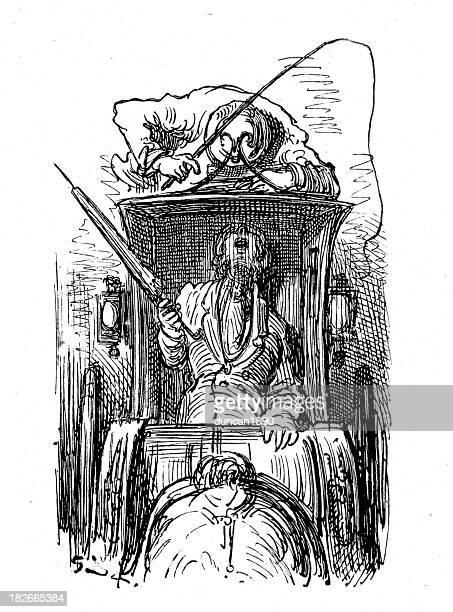 ilustraciones, imágenes clip art, dibujos animados e iconos de stock de victorian london-coche de caballos - taxista