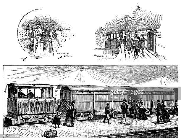 Victorian London Underground Railway