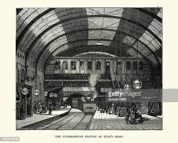 Victorian London - Underground Station at King's Cross